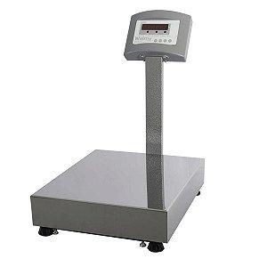 Balanca Eletronica Plataforma com Coluna Led W100 Welmy 100 Kg