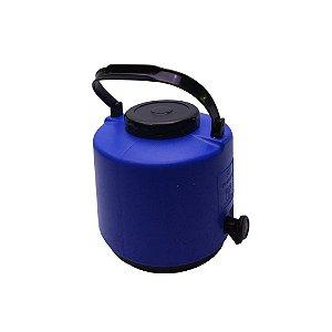 Botijao Termico Maxitermo Termolar Azul  06 Lt