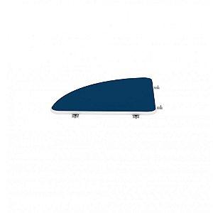 Conexao Curva 90° para Mesas Maxxi Pandin Azul e Cinza 61 Cm