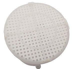 Forma para Queijo Fresco em Polietileno Martex Branco  500 G
