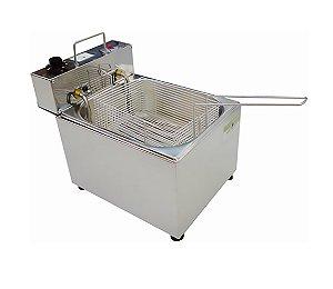 Fritador Eletrico com 1 Cuba Linha Economica Ital Inox 05 Lt 220 V