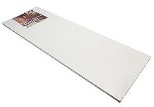 Prateleira Aglomerado Casa Facil Fico Ferragem Branco 90 Cm, 25 Cm