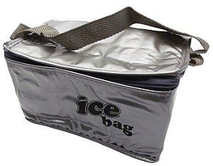 Bolsa Semi Termica Ice Bag Cotermico Prata  03 Lt