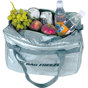 Bolsa Termica Bag Freezer Cotermico Prata  14 Lt