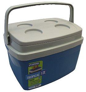 Caixa Termica Tropical 12 Litros Soprano Azul