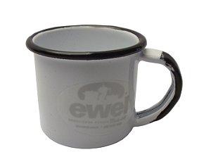 Caneca Esmaltada 4,5 Ewel Branco