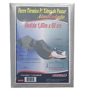 Forro Termico para Tabua de Passar Almofadado Silver´s 60 Cm 1,60 M