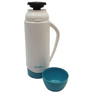 Garrafa Termica Atx Continental Plus Aladdin  Branco e Verde  500 Ml