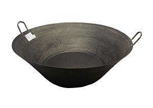 Tacho de Ferro Polido N32 Vitoria Regia Preto 32 Cm