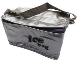 Bolsa Semi Termica Ice Bag Cotermico Prata  10 Lt