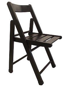 Cadeira de Madeira Dobravel Ripada Rubim Nogueira