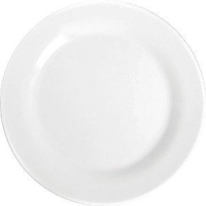 Prato Menu Raso Opaline Nadir Figueiredo Branco 24 Cm