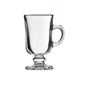 Taca de Vidro para Cafe Class Home   250 Ml
