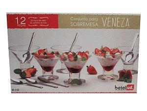 Conjunto para Sobremesa 12 Pecas Veneza Betel