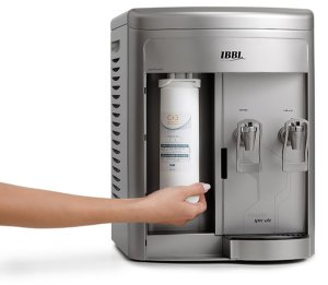 Purificador de Agua Refrigerado Fr600 Speciale Ibbl Prata   110 V