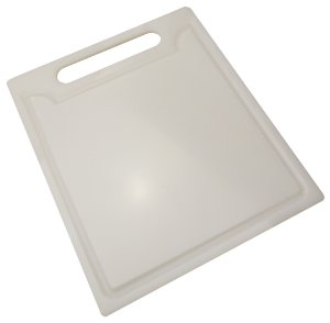 Tabua de Cozinha para Corte em Polietileno Solrac Branco 24 Cm, 32 Cm