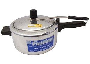 Panela de Pressao Polida Aluminio Paulista  3.0 Lt