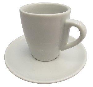 Xicara de Cafe com Pires em Porcelana Nova Sache Germer