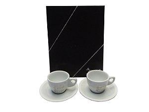 Conjunto de Xicaras para Cafe Para Bodas De Prata Betel