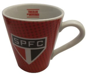 Caneca de Porcelana Do Spfc Allmix 300 Ml