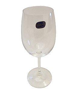 Jogo de Tacas para Vinho Tinto com 06 Pecas Crystal Bohemia Cristalex 580 Ml