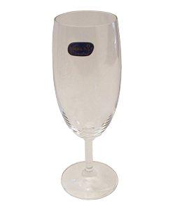 Jogo de Tacas para Champagne com 06 Pecas Bohemia Crystal Cristalex