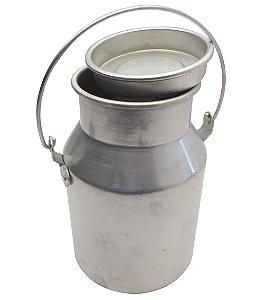 Deposito para Leite N3 em Aluminio Ramos  3.0 Lt