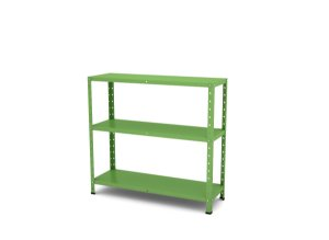 Estante de Aco Multiuso Pandin Verde Miro 90 Cm