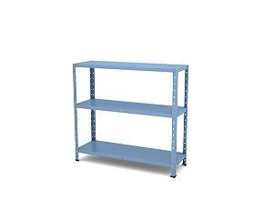 Estante de Aco Multiuso Pandin Azul Dali 90 Cm
