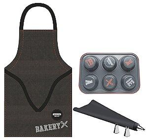 Kit para Cupcake 6 Pecas Bakery Tramontina