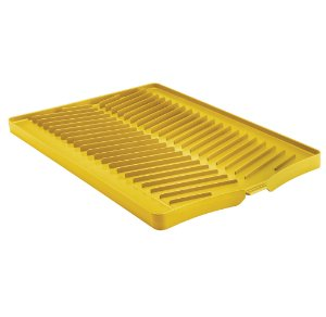 Bandeja para Loucas em Polipropileno Plurale Tramontina Amarelo
