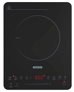 Fogao Cooktop 1 Queimador Por Inducao Portatil Slim Touch Ei30 Tramontina 220 V