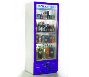 Geladeira Visa Cooler Polofrio Azul  450 Lt 110 V