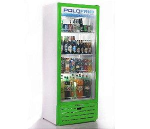 Geladeira Visa Cooler Polofrio Verde  450 Lt 110 V