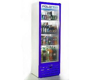 Geladeira Visa Cooler Slin Polofrio Azul  315 Lt 220 V