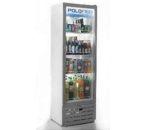 Geladeira Visa Cooler Slin Polofrio Cinza  315 Lt 110 V