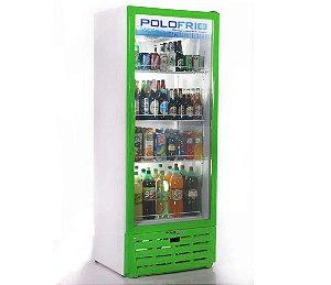 Geladeira Visa Cooler Polofrio Verde  560 Lt 110 V