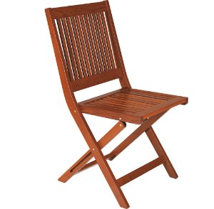 Cadeira Dobravel de Madeira Jatoba Natural - Fitt Tramontina 91 Cm