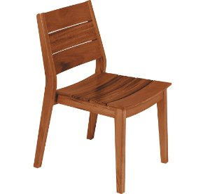 Cadeira de Madeira Sem Bracos Toscana - Madeira Muiracatiara Tramontina Madeira 55 Cm