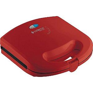 Sanduicheira Mini Grill Cadence Vermelho   220 V