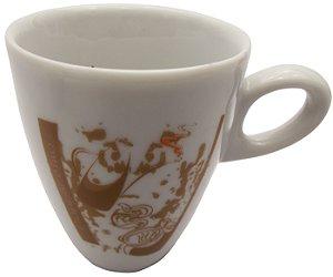 Caneca em Ceramica para Cafe cappuccino  cappuccino  Koisas de Kozinha 150 Ml