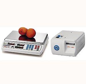 Balanca Eletronica com Impressora Gural Bivolt V
