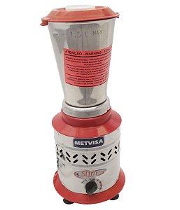 Liquidificador Industrial de Alta Rotacao Metvisa 1.5 Lt 220 V