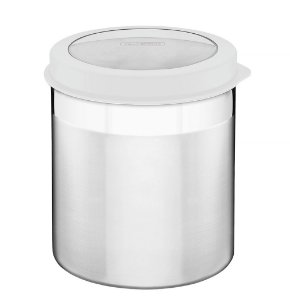 Pote Inox com Tampa Plastica Cucina Tramontina 16 Cm