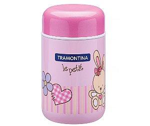Pote Termico Rosa Le Petit Tramontina 8 Cm 400 Ml