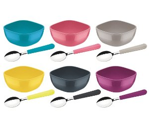 Kit para Sobremesa 12 Pecas Mixcolor Tramontina
