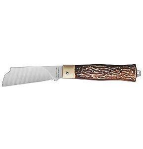 Conjunto Canivetes em Aco Inox Ponta Reta 3  com Cabo Abs 6 Pecas Tramontina 19 Cm