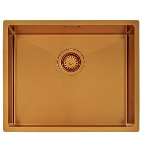 Cuba Quadrum Aco Inox 50x40 Design Collection Tramontina 54 Cm