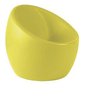Poltrona Oca em Polietileno Casa Delta Tramontina Amarelo 64 Cm