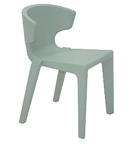 Cadeira Marilyn em Polietileno Sem Bracos Casa Delta Tramontina Verde 75 Cm